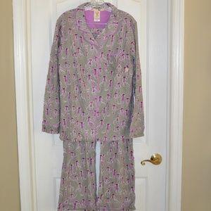 munki munki Intimates   Sleepwear - Munki Munki Sock Monkey Pajama Set Sizes   M L XL d33b047eb